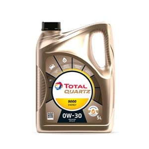 Engine Oils and Lubricants, TOTAL Quartz 9000 Energy 0w30 Fully Synthetic Engine Oil. 5 Litre, Total