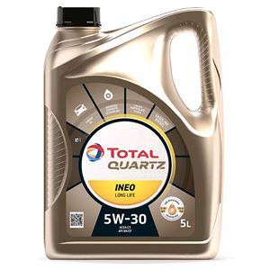 Engine Oils and Lubricants, TOTAL QUARTZ INEO LONG LIFE 5W-30 ENGINE OIL 5 LITRE , Total