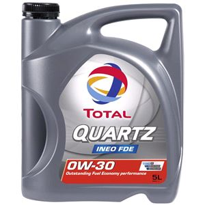 Engine Oils and Lubricants, TOTAL QUARTZ FDE 0W-30 ENGINE OIL 5 LITRE , Total