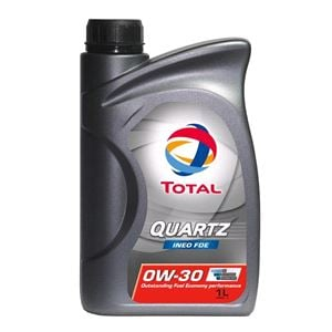 Engine Oils and Lubricants, TOTAL QUARTZ FDE 0W-30 ENGINE OIL 1 LITRE , Total
