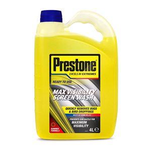 Glass Care, Prestone Max Visibility Screenwash 4L , PRESTONE