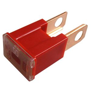 Fuses, Wot-Nots Fuse - Male Slow Blow - Red - 50A, WOT-NOTS
