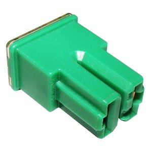 Fuses, Wot-Nots Fuse - Female Slow Blow - Green - 40A, WOT-NOTS