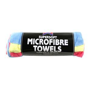 Cloths, Sponges and Wadding, Kent Microfibre Cloths - 6 Pack, KENT