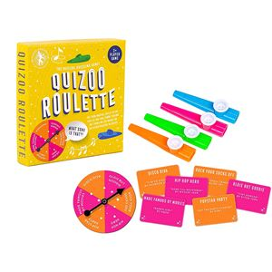 Games, Professor Puzzle's Family Games - Quizoo Roulette, Professor Puzzle