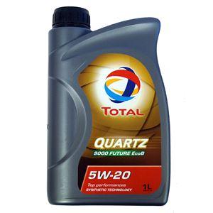 Engine Oils and Lubricants, TOTAL QUARTZ 9000 FUTURE EcoB 5W-20 ENGINE OIL 1 LITRE , Total