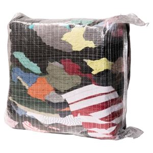 10kg Bag Of Rags Assorted Vacuum Packed