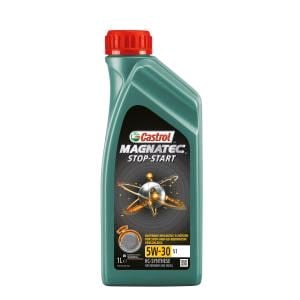 Engine Oils and Lubricants, Castrol Magnatec Stop-Start 5W-30 Engine Oil S1 1ltr *, Castrol