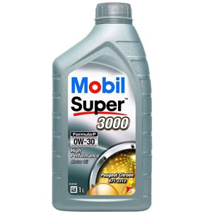 Engine Oils and Lubricants, Mobil Super 3000 Formula P 5W30 Engine Oil. 1 Litre, MOBIL