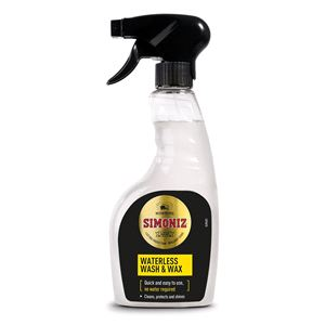Exterior Cleaning, Simoniz Waterless Wash & Wax 500ml, Simoniz