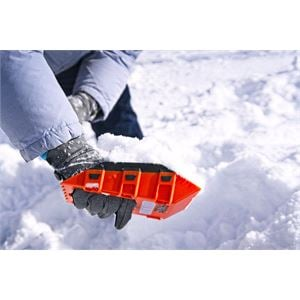 Snow Shovels, Stayhold 5 in 1 Safety Snow Shovel Mini , STAYHOLD