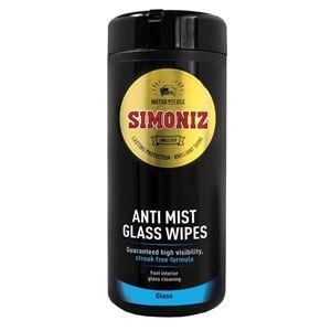 Glass Care, Simoniz Anti Glare Glass Wipes Tub, Simoniz