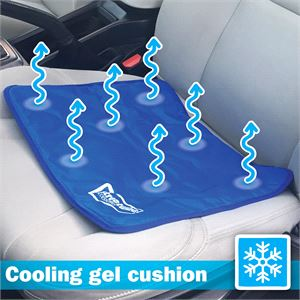 Seat Cushions Cool Gel And Back Cushion For Car Streetwize