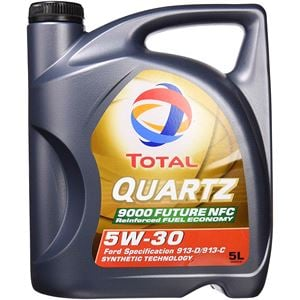 Engine Oils and Lubricants, TOTAL QUARTZ 9000 FUTURE NFC 5W-30 ENGINE OIL 5 LITRE, Total