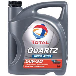 Engine Oils and Lubricants, TOTAL QUARTZ INEO MC3 5W-30 ENGINE OIL 5 LITRE , Total