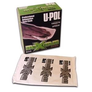 Body Repair and Preparation, u-Pol High Performance Tack Cloth - Pack Of 10, U-POL