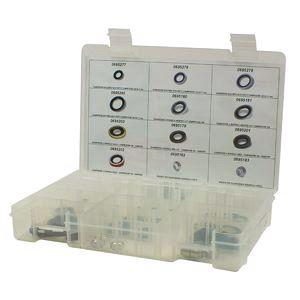 Seal Kit, Air Conditioning, ZESTAW MONTAZOWY KLIMATYZACJI KOMPRESOROW GM HARRISON, DELPHI