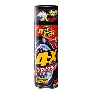 Wheel and Tyre Care, Soft99 4-X Tire Cleaning Mousse & Tire Dressing - 470ml, Soft99