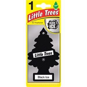 Air Fresheners, Little Trees Black Ice Air Freshener, Little Trees