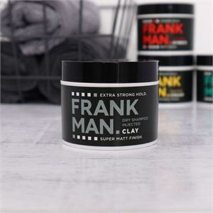 Hair Styling, FrankMan Dry Shampoo Injected Clay - Matt, Extra Strong Hold, Frankman