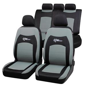 Seat Covers, RS Racing Car Seat Cover- Black & Grey For Mercedes GL-CLASS 2012 Onwards, Walser