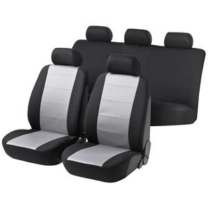 Seat Covers, Speed grey black car seat cover - For Mercedes GL-CLASS 2012 Onwards, Walser