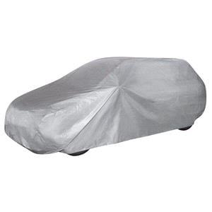 Car Covers, Car Tarpaulin All Weather Light Station Wagon Full Garage (Size M) - Light Grey, Walser