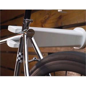Bike Racks - Accessories, Peruzzo Wall mounted Bike Rack White, Peruzzo