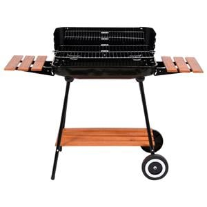 Cookers and Stoves, Lund Charcoal Grill With Shelves - 53 x 33cm, LUND