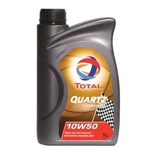 Engine Oils and Lubricants, TOTAL Quartz Racing 10w50 Fully Synthetic Engine Oil. 1 Litre, Total