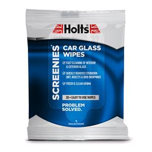 Wipes, Holts Screenies Car Glass Wipes - 20 Pack, Holts