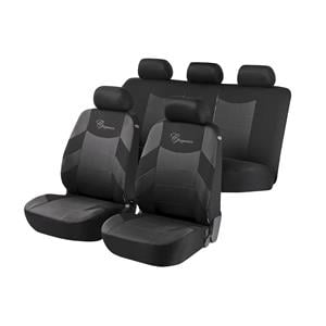 Seat Covers, Elegance Car Seat Cover - Grey & Black For Mercedes GL-CLASS 2012 Onwards, Walser