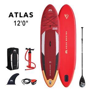 """All SUP Boards, Aqua Marina Atlas (2021) 12'0"""" SUP Paddle Board, Aqua Marina"""
