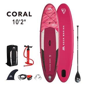 """All SUP Boards, Aqua Marina Coral (2021) 10'2"""" SUP Paddle Board, Aqua Marina"""