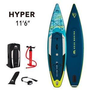 "All SUP Boards, Aqua Marina Hyper (2021) 11'6"" SUP Paddle Board, Aqua Marina"