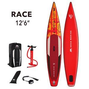 """All SUP Boards, Aqua Marina Race (2021) 12'6"""" SUP Paddle Board, Aqua Marina"""