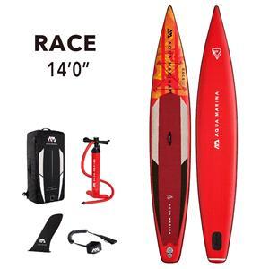"""All SUP Boards, Aqua Marina Race (2021) 14'0"""" SUP Paddle Board, Aqua Marina"""