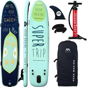 """All SUP Boards, Aqua Marina Super Trip (2020) 12'2"""" Family SUP Paddle Board, Aqua Marina"""