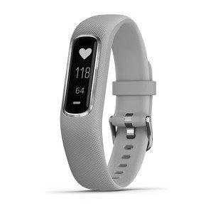 Smart Watch, Garmin Vivosmart 4 Powder Grey - Regular, Garmin