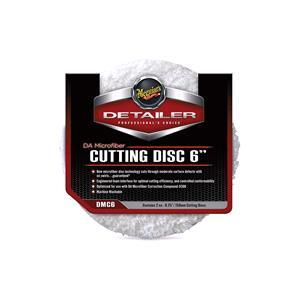 """Detailing, Meguiars DA Microfiber Cutting Pad - 6"""" - 2 Pack, Meguiars"""