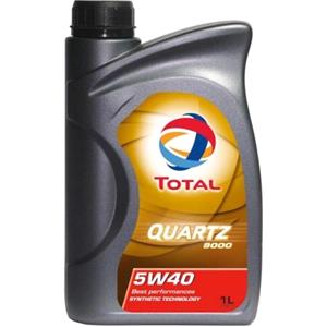 Engine Oils and Lubricants, TOTAL Quartz 9000 5w40 Fully Synthetic Engine Oil. 1 litre., Total