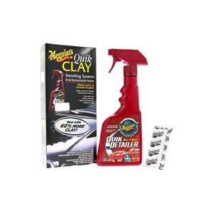 Paint Polish and Wax, Meguiars Quik Clay Detailer Kit, Meguiars