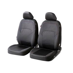 Seat Covers, Walser Logan Front Car Seat Covers - Black For Mercedes GL-CLASS 2012 Onwards, Walser