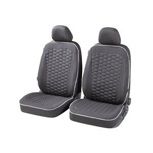 Seat Covers, Walser Kendal Front Car Seat Covers - Black For Mercedes GL-CLASS 2012 Onwards, Walser
