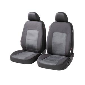 Seat Covers, Walser Ellington Front Car Seat Covers - Black & Anthracite For Mercedes GL-CLASS 2012 Onwards, Walser