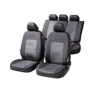 Seat Covers, Walser Ellington Car Seat Cover Set - Black & Anthracite For Mercedes GL-CLASS 2012 Onwards, Walser