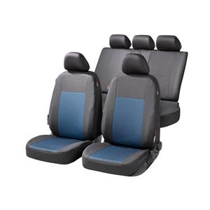 Seat Covers, Walser Ardwell Car Seat Cover Set - Black & Blue For Mercedes GL-CLASS 2012 Onwards, Walser