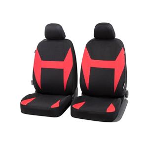 Seat Covers, Walser Caledon Front Car Seat Covers - Black & Red For Mercedes GL-CLASS 2012 Onwards, Walser