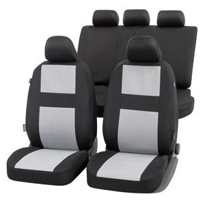 Seat Covers, Walser Glasgow Car Seat Cover Set - Black & Grey For Mercedes GL-CLASS 2012 Onwards, Walser