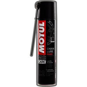 Chain Spray, MOTUL C2 CHAIN LuBE ROAD 400L, MOTUL